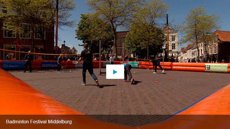 Badminton Festival Omroep Zeeland