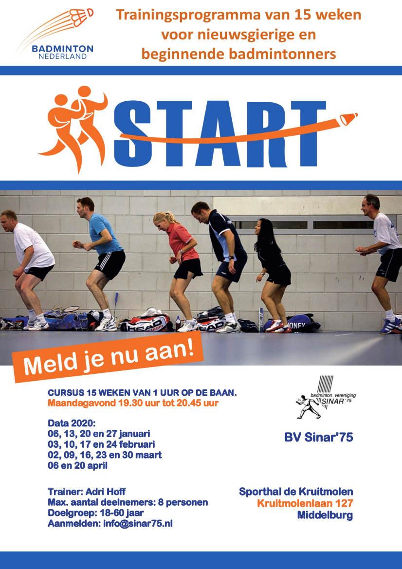 Trainingsprogramma START